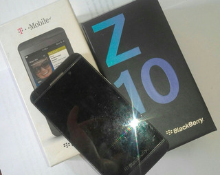 Blackberry Z10 Detalle Pantalla+pin Carga Malo 20 Y Cajas 5