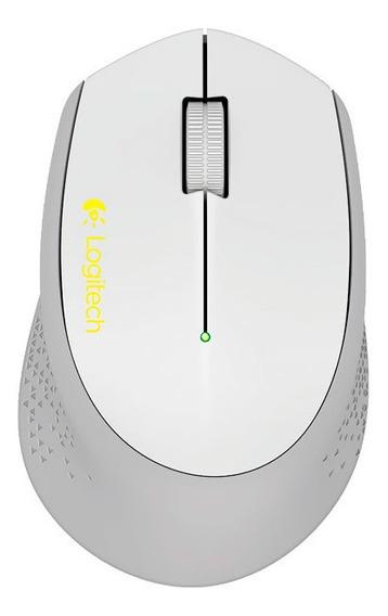 Mouse Óptico Sem Fio Logitech M280 Cinza