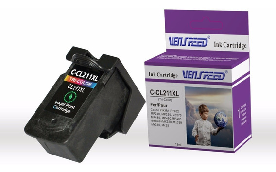 Cartucho Compatible Canon 211 Xl Tri-color Cl-211 Xl