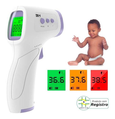 Termometro Digital Laser Infravermelho Febre Bebe Adulto