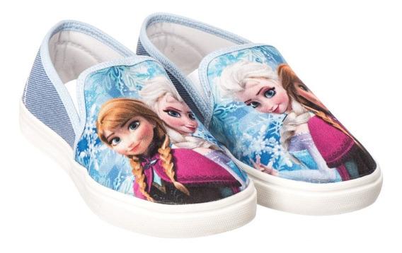 Tenis Infantil Frozen Sapatinho Personagem Calçado Kids