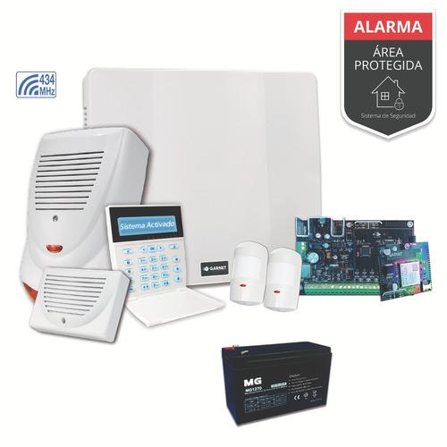 Kit Alarma Casa Wifi 3g  Sensor Movimiento Inalambrico