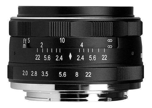 Lente Meike 50mm F/2 Manual Para Sony E-mount