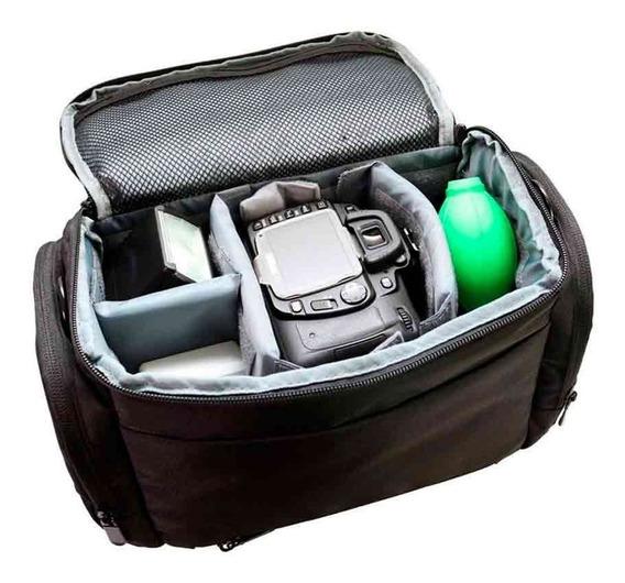 Bolsa Greika Para Câmeras E Lentes E0s 1
