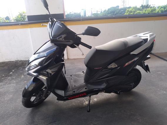 Honda Elite 125 Cc Preta 19/19