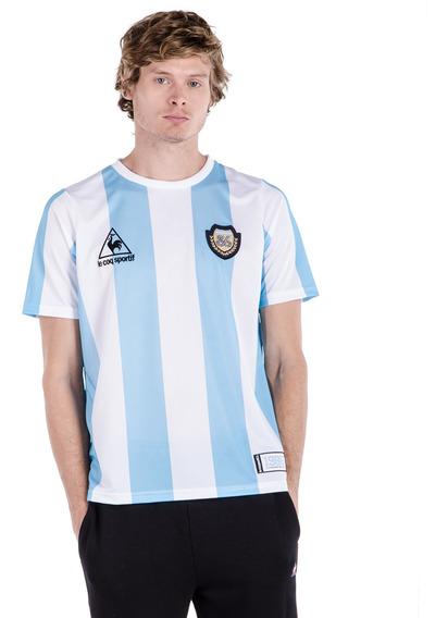 Remera Argentina 86 Aniversario Hombre Le Coq Sportif