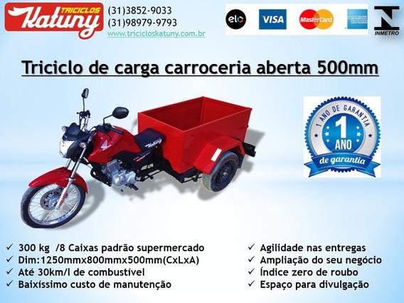 Triciclo De Carga Cacamba 500mm