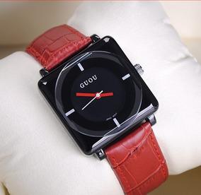 Relógio Feminino Guou 8811 Promoção Quartzo De Pulso Barato