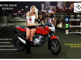 Clases De Manejo De Moto Lineal,scooter. Tramitamos Licencia