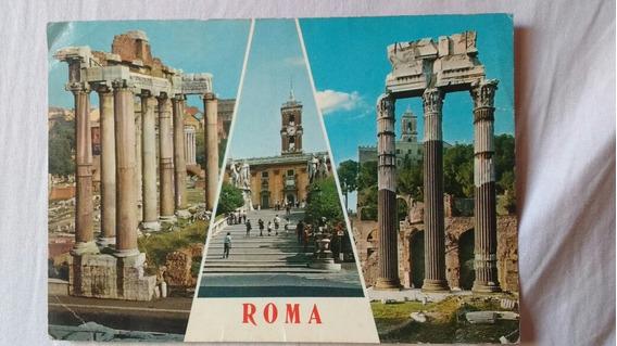 Tarjeta Postal De Roma