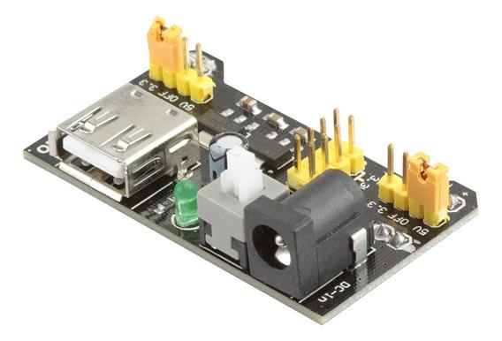 Modulo Fonte Ajustavel Para Protoboard 3,3 V - 5v