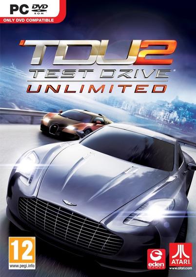 Test Drive Unlimited 2 - Pc Mídia Digital + Jogo Grátis