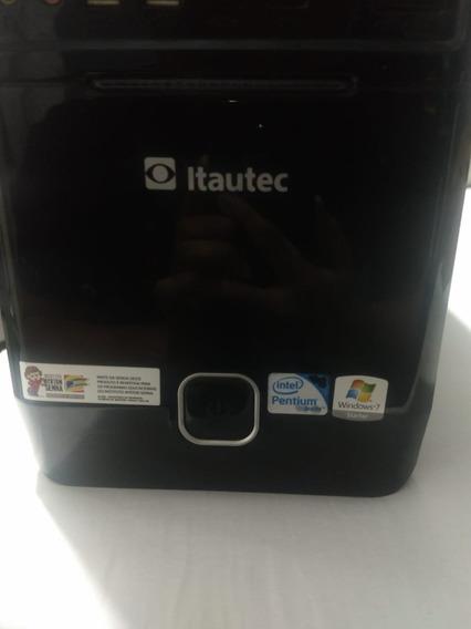 Pc Itautec - Processador Intel Pentium 2 Gb - 2 Ram.