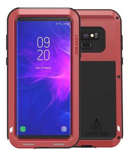 Funda Samsung Note 9 Love Mei Powerful De Uso Rudo Aluminio
