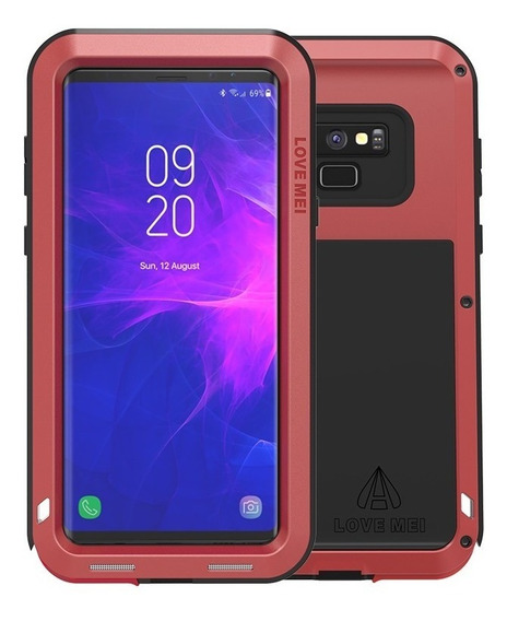 Funda Samsung Note 9 Love Mei Powerful De Uso Rudo Aluminio