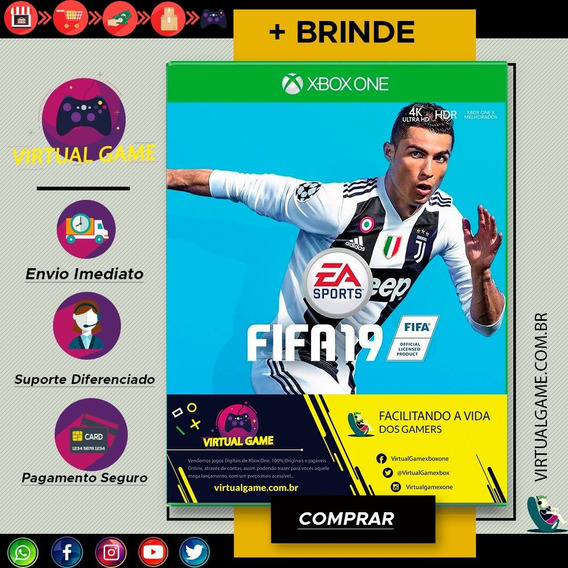 Fifa 19 - Xbox One - Jogo Xbox One - Midia Digital + Brinde
