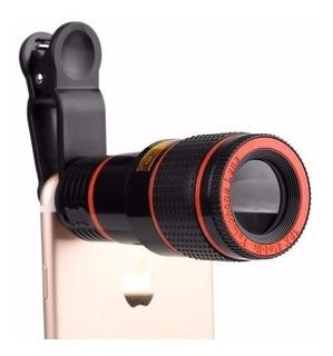 Lente Zoom Celular 8x Lente Telescopio Para Smartphones