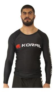 Rashguard Koral Lycra Jiu Jitsu Submission Competidor Mma