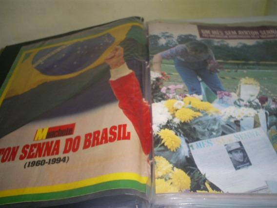 Recortes E Reportagens De Ayrton Senna 1994