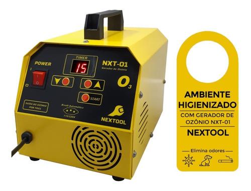 Nxt-01 Gerador De Ozônio Para Ambientes E Automóveis