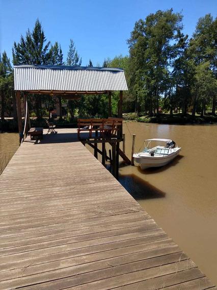 Cabaña En El Delta Tigre Rio Carapchay Para 6 P. El Secreto