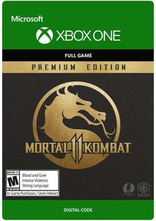Mortal L Kombat 11 Premium Xbox One Código Digital