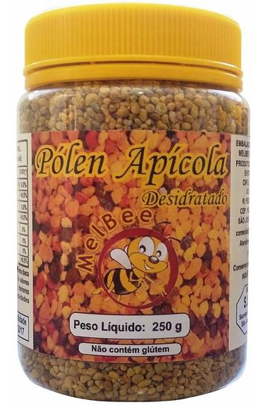 Pólen Apícola Desidratado - Pote 250 G