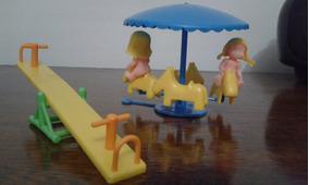 Brinquedo Antigo Parquinho De Plastico Pipo Anos 80