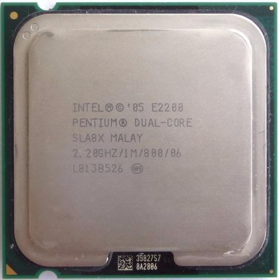 Processador Intel Pentium Dual Core E2200 Lga 775 2.20ghz