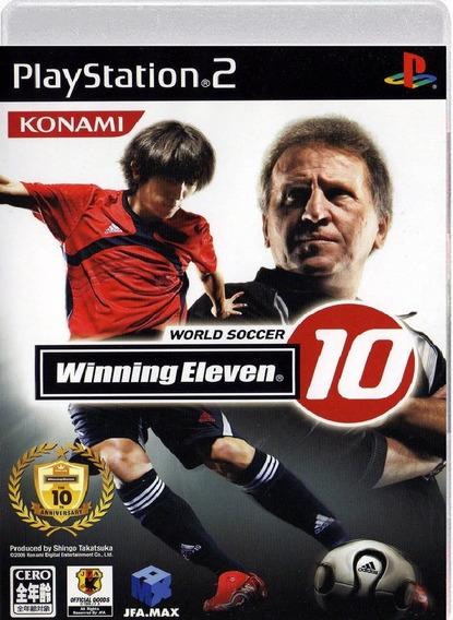 Winning Eleven 10 - Playstation 2