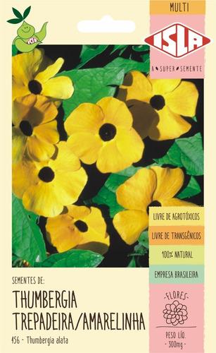 Sementes De Thumbergia Trepadeira/amarelinha