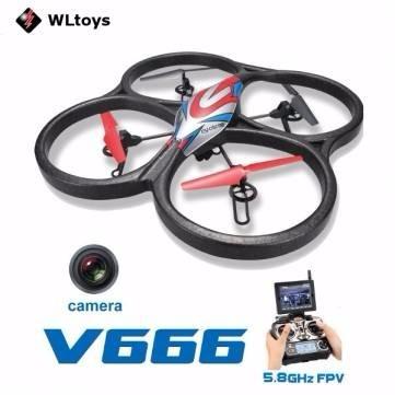 Drone Wltoys V666 Quadcopter Met Fpv Functie + Brinde