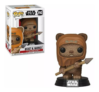 Funko Pop! Wicket W. Warrick 290 - Star Wars Muñeco Original