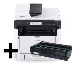Fotocopiadora Ricoh Sp 3710sf (versión Nueva Sp 377) + Toner