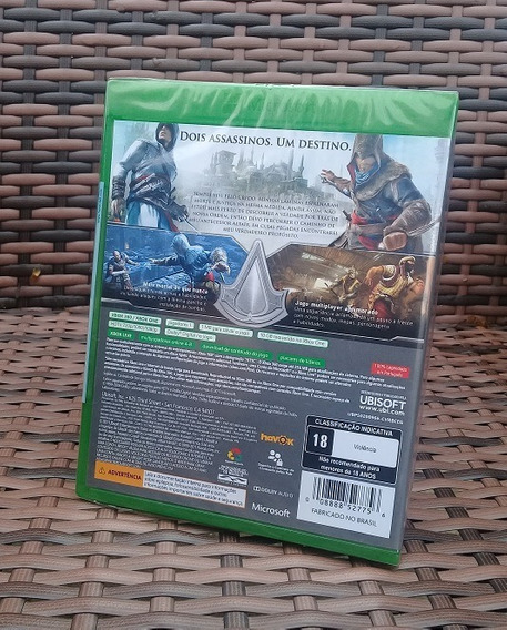 Assassins Creed Revelations Xbox One E Xbox 360 Cd Português