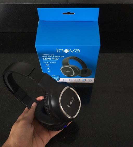 Headphones (fones Sem Fio) Bluetooth Rádio Fm Micro Sd
