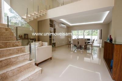 Alphaville Manaus 2, Casa A Venda Com 387 M², 03 Suítes, Ponta Negra / Am. - Ca00072 - 32309263