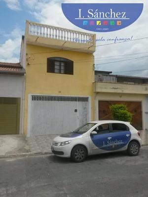 Casa Para Venda Em Poá, Jardim Santa Luiza, 3 Dormitórios, 1 Suíte, 2 Banheiros, 2 Vagas - 181017a