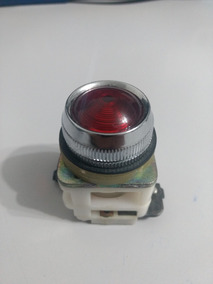 Sinaleiro Vermelho P/lampada Ba15d Modelo 54/02r Eaton