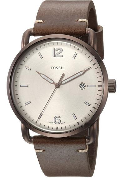 Relógio Fossil Couro - Fs5341/2bn