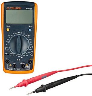 Tester Multímetro Digital Medidor Temperatura Truper 10402