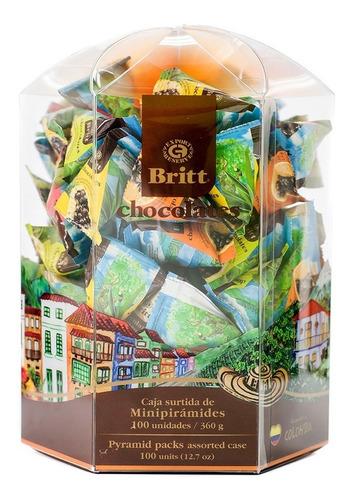 Chocolates Britt Minipiramide Surtido 1 - kg a $222