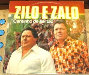 Lp Zilo E Zalo - Cantinho De Sertão (1981)
