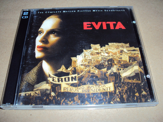 Evita - The Complete Motion Picture - 2 Cd Nacional 1996