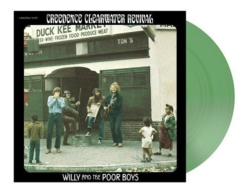 Creedence Willy & The Poor Boys Vinilo Verde Limited Lp 2019