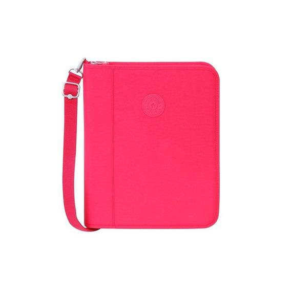 Fichário Kipling New Storer Rosa True Pink