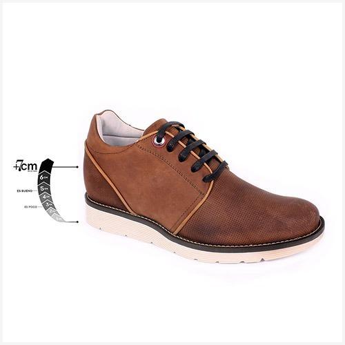 Zapato Casual Avenue Café Max Denegri +7cms De Altura