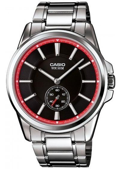 Relógio Casio Mtp-e101d-1a2vdf Prata Masculino - Refinado