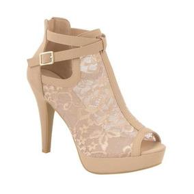3bd5d1d0 Zapatos Yaeli Fashion Plataformas Mujer Botines - Zapatos en Mercado ...