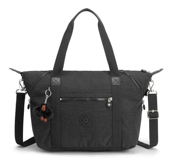 Bolsa Art Preto True Black Kipling